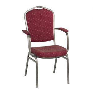 Stackchair, stapelstoelen, horeca stoelen Zwart Super Seat
