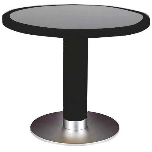 Tafel Rond 90 Cm.Terrastafel Mezza Rond 90 Cm Zwart Gastro Loods